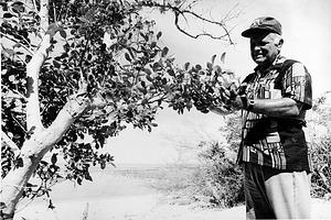 F. Raymond Fosberg on a Field Trip to Sri Lanka