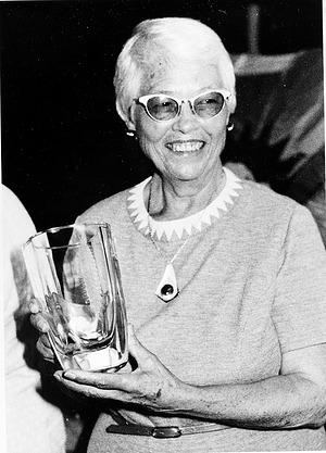 Marian H. Pettibone at Her Retirement