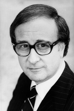 Marvin Sadik, by Walker, Diana H, 1978, Smithsonian Archives - History Div, 92-3575.