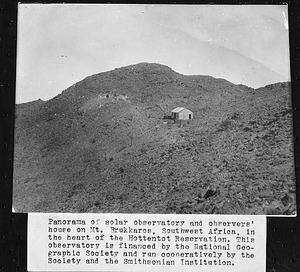 Mt. Brukkaros Observatory, Southwest Africa