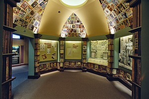 """Business of the Mail: Parcel Post"" Gallery in the National Postal Museum"