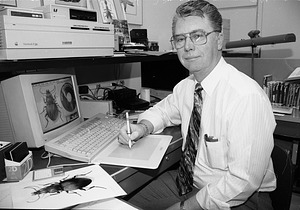 George Venable, by Minor-Penland, Laurie, 1994, Smithsonian Archives - History Div, 94-1492-7A.