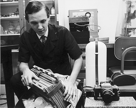 Thomas Soderstrom Packing Equipment, by Unknown, 1969, Smithsonian Archives - History Div, 94-1518.