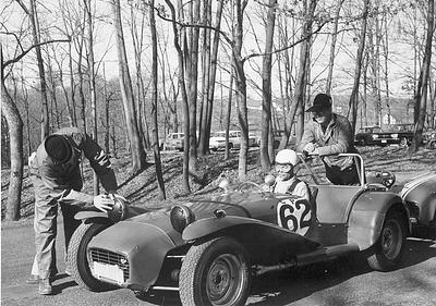 """Lee Talbot and Donald Squires from the National Museum of Natural History ready """"VroomÃ> </a> There is always the need for speed when you decide to dress as a race car driver fully loaded with car. <a href="""
