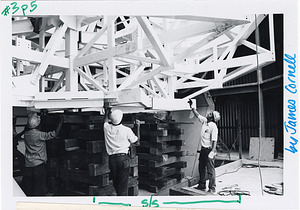Construction of MMT (Multiple Mirror Telescope) Observatory on Mt. Hopkins, Arizona
