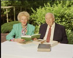 Secretary Emeritus Ripley and Wife, Mary Livingston Ripley