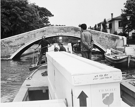 Venice Biennale, by Unknown, 1966, Smithsonian Archives - History Div, 94-6806.