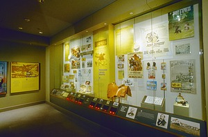 """Pony Express Section of """"Binding the Nation"""" Exhibit, NPM"""