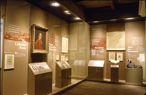 "The ""Starting the System"" Section of ""Binding the Nation"" Exhibit, NPM"