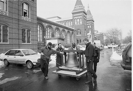 New Bell for Flag Tower of the Smithsonian Institution Building