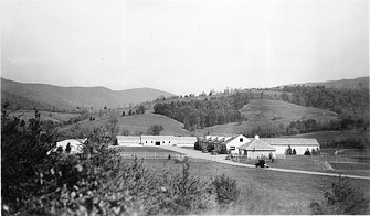 Headquarters Area, Luray, Virginia, by Unknown, 1944, Smithsonian Archives - History Div, 96-1343.