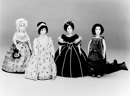 First Ladies Dolls, by Unknown, c. 1985, Smithsonian Archives - History Div, 96-1379.