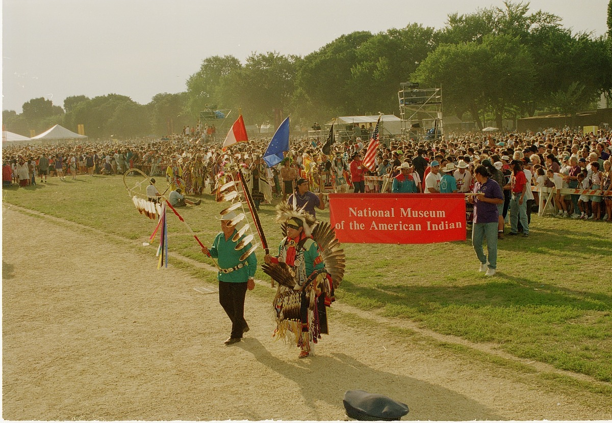 Participants in the NMAI Parade