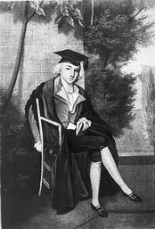 James Smithson as Oxford Student, 1880, Smithsonian Archives - History Div, 10192 or AI-10192.