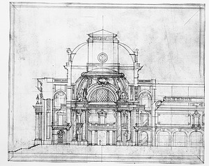 Preliminary Drawing for National Museum of Natural History