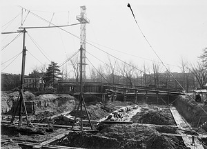 Construction of Freer Gallery of Art
