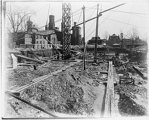 Construction of Freer Gallery of Art, 1917