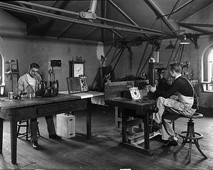 Frank Taylor in Workshop
