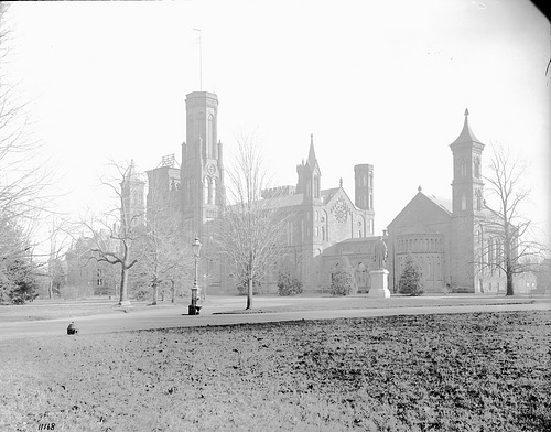 Exterior of Smithsonian Institution Building, c. 1895