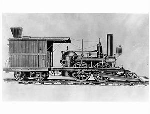 """John Bull"" Locomotive Engine"