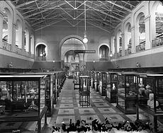 History Exhibits, North Hall, A&I Building