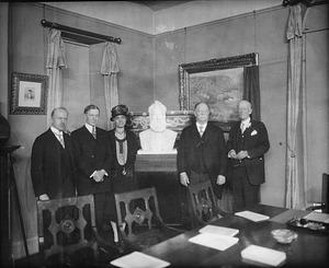Alexander Graham Bell Bust Presentation