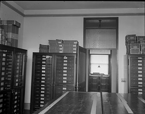 Division of Mollusks Storage, National Museum of Natural History, 1911