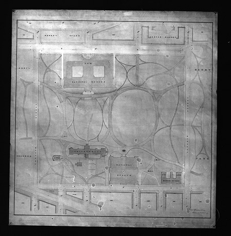 Plan of Smithsonian Grounds