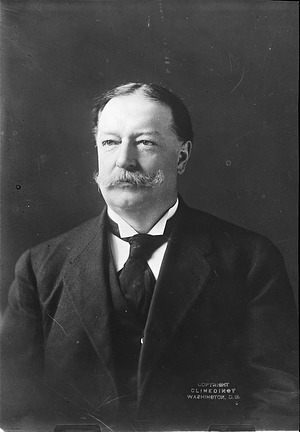 William Howard Taft, by Unknown, Smithsonian Archives - History Div, 28553 or MAH-28553.