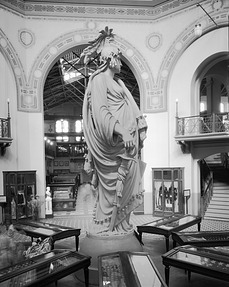 Statue of Freedom (Side View), Rotunda, A&I Building