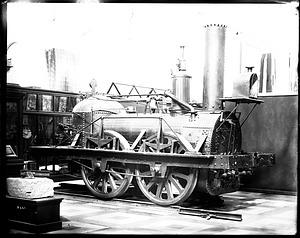 "Locomotive ""John Bull"" at United States National Museum"