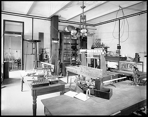 Electricity Laboratory, 1880, Smithsonian Institution Archives, SIA Acc. 11-006 [MAH-3668].