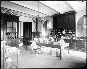 Chemistry Laboratory, 1880, Smithsonian Institution Archives, SIA Acc. 11-006 [MAH-3671].