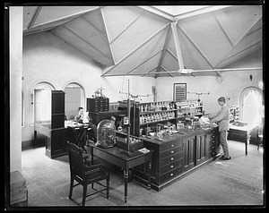 Chemistry Laboratory, 1880, Smithsonian Institution Archives, SIA Acc. 11-006 [MAH-3673].