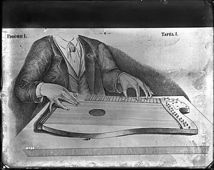 Book Illustration (Zither), 1880, Smithsonian Institution Archives, SIA Acc. 11-006 [MAH-3723].