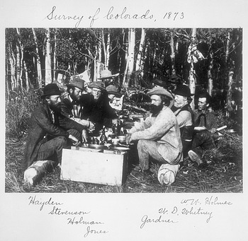 Group from Survey of Colorado at Camp
