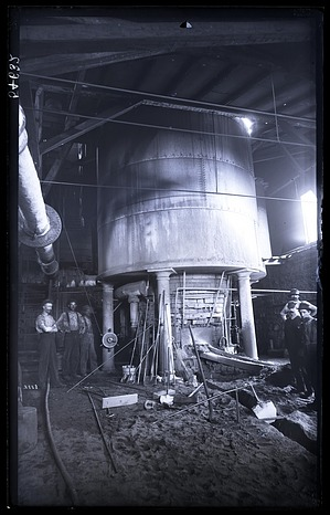 Blast Furnace at Iron Works, 1880, Smithsonian Institution Archives, SIA Acc. 11-006 [MAH-3808].