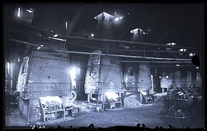 Interior View of Belmont Forge, 1880, Smithsonian Institution Archives, SIA Acc. 11-006 [MAH-3810].