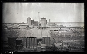 Exterior View of Crown Point Iron Co., New York