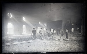 Interior View of Iron Works, 1880, Smithsonian Institution Archives, SIA Acc. 11-006 [MAH-3827].