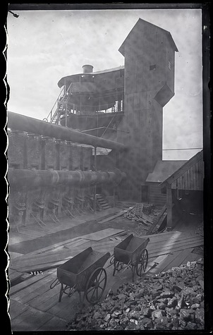 Exterior View of Iron Works, 1880, Smithsonian Institution Archives, SIA Acc. 11-006 [MAH-3837].