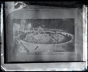"""Osceola Mill Interior, Round Buddle in Osceola Tail House"""