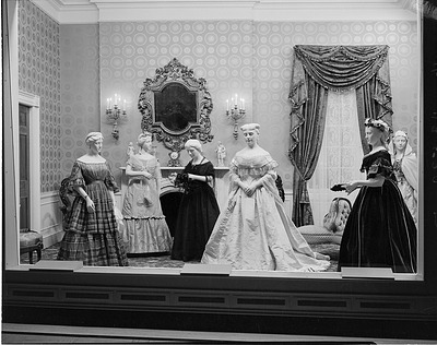 First Ladies Exhibit in the A&I Building