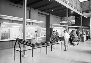 """""""Iron and Steel in America"""" Exhibit, United States National Museum"""