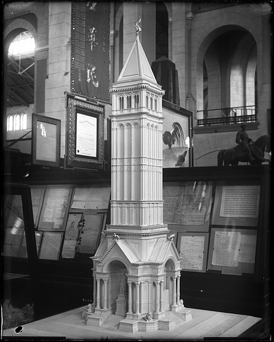 Model of Unidentified Monument, 1880, Smithsonian Institution Archives, SIA Acc. 11-006 [MAH-4606].