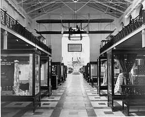 Textile Exhibit in A&I, 1957, by Unknown, 1957, Smithsonian Archives - History Div, MAH 56766.