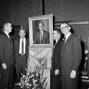 G. Arthur Cooper Portrait Presentation
