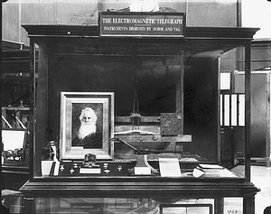 Electromagnetic Telegraph Exhibit in A&I