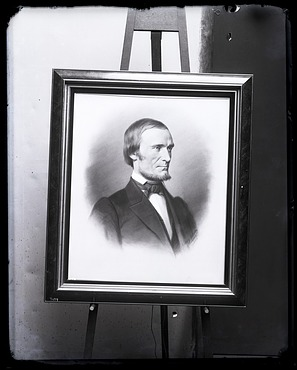 Portrait Painting of Fielding Bradford Meek (1817-1876)
