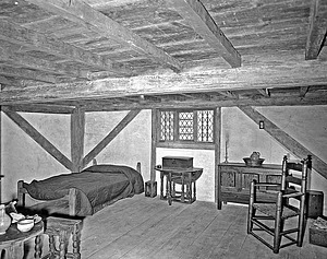 Interior Room of a 1684 Massachusetts House, NMHT